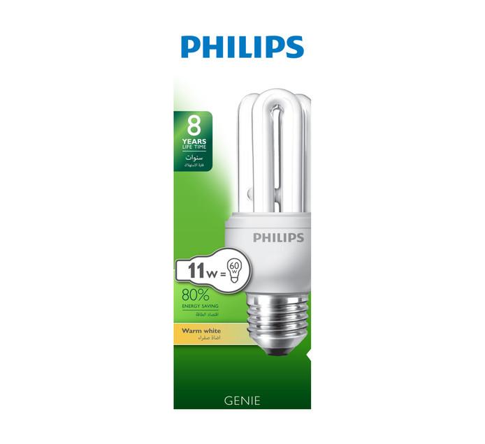 PHILIPS 11W 11 W Energy Saver Globe