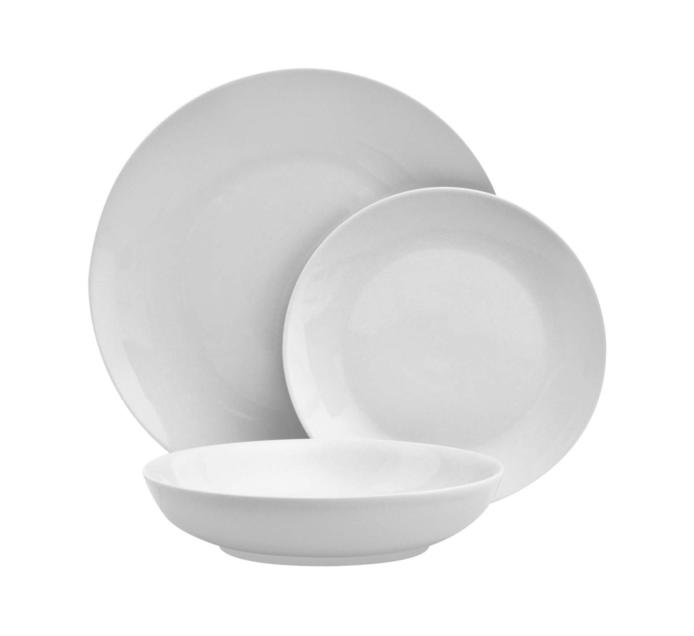 PRIMARIES 12-Piece Coupe Dinner Set