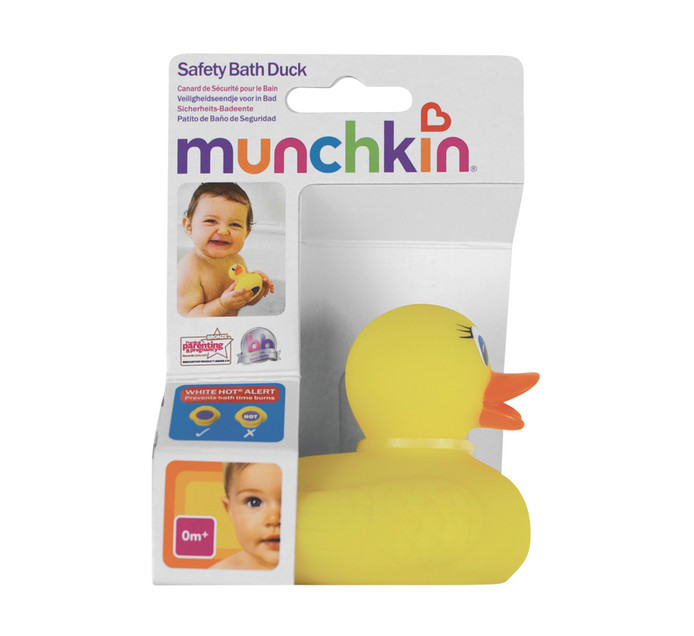 MUNCHKIN Hot Safety Bath Ducky