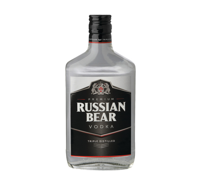 RUSSIAN BEAR Vodka (12 x 375ml)