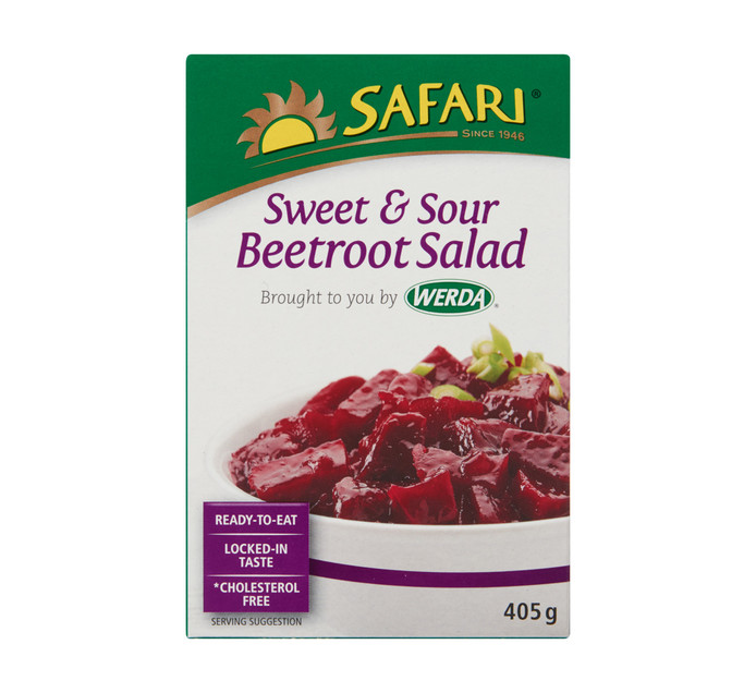 SAFARI Salad Sweet & Sour Beetroot (1  x 405g)