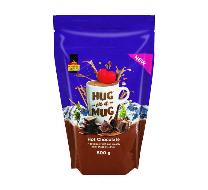 HOUSE OF COFFEES Hot Chocolate (12 x 500g)