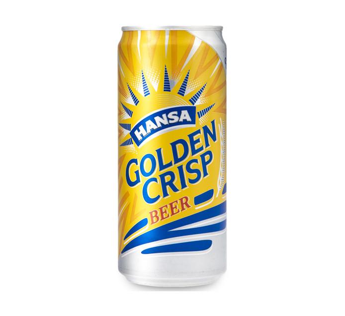 HANSA Golden Crisp Can (24 x 300ml)