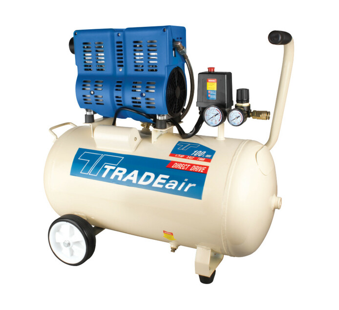 TRADEAIR 24 L 0.55 kW Direct Drive Silent Compressor
