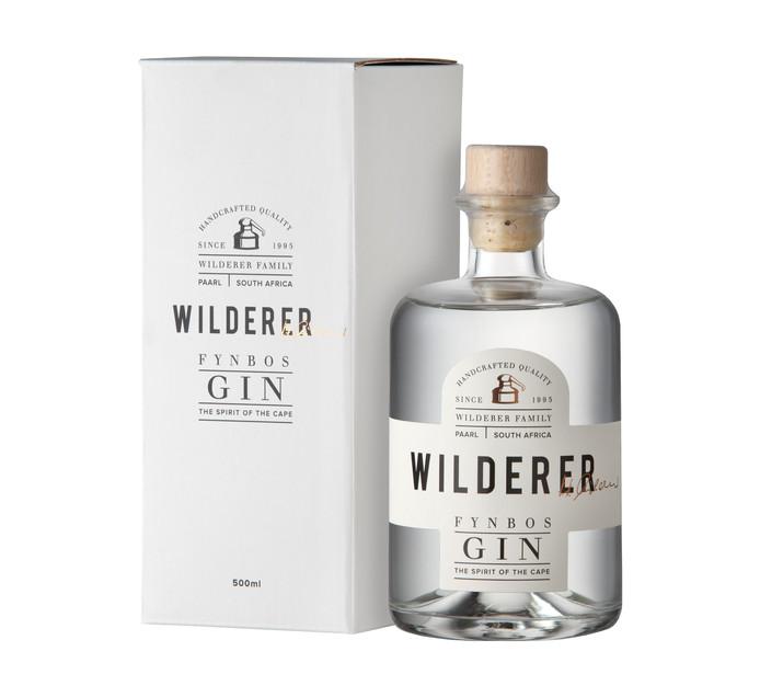 WILDERER Cape Fynbos Local Premium Gin (1 x 500ml)