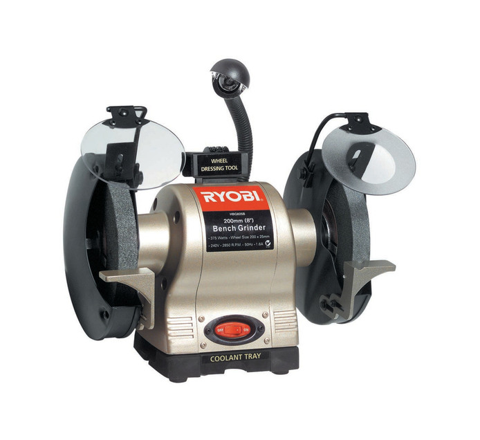 RYOBI 375 W 200mm Bench Grinder