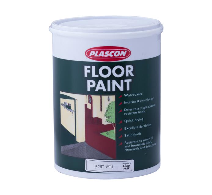 PLASCON FLOOR PAINT RUSSET 5L