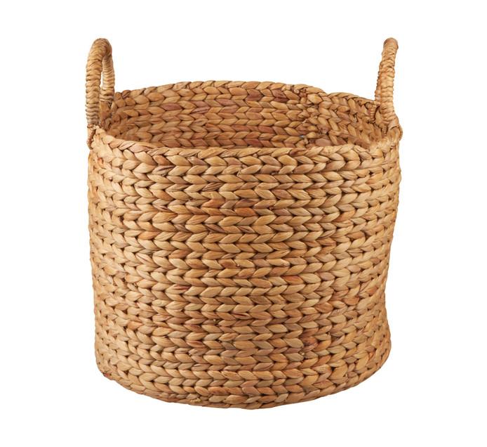 Large Evo Hyacinth Basket Round