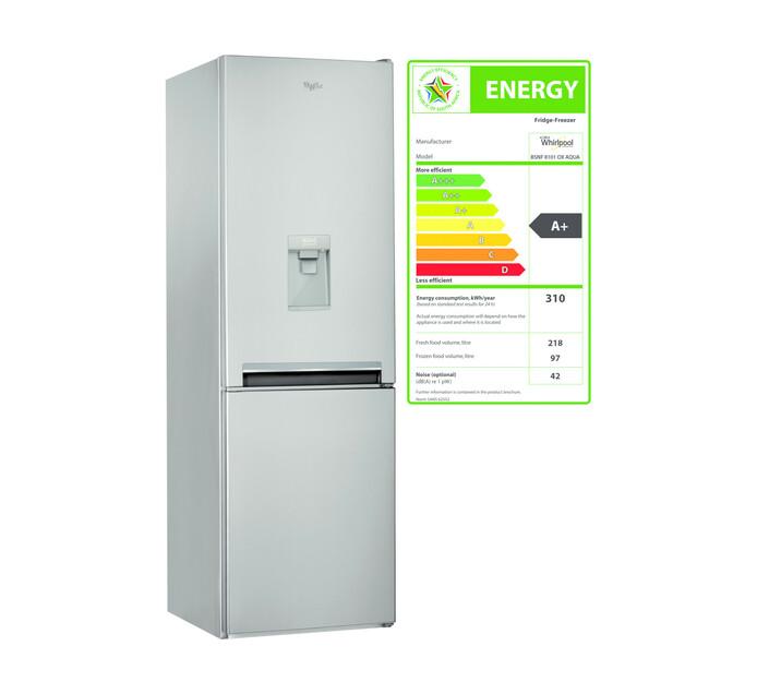 WHIRLPOOL 315 l Combi Fridge/Freezer with Water Dispenser