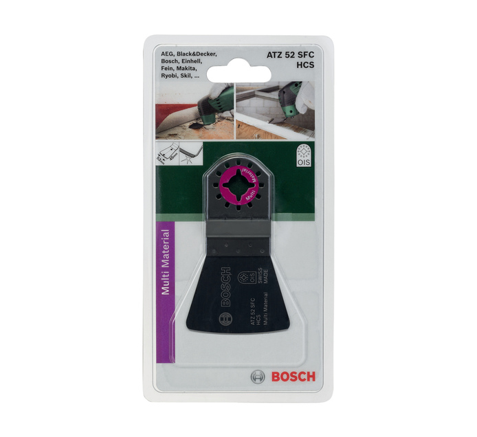 BOSCH 52X45MM Hcs Flexible Scraper