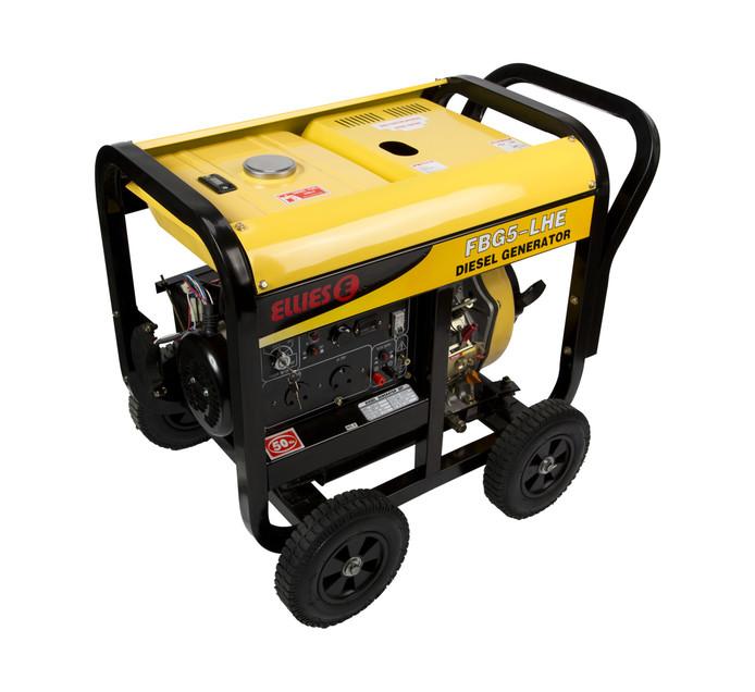 ELLIES 4.2kVA Key Start Diesel Generator