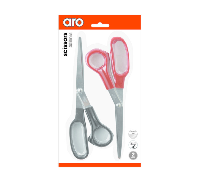 ARO Scissors 8.5' 210mm 2 Pack