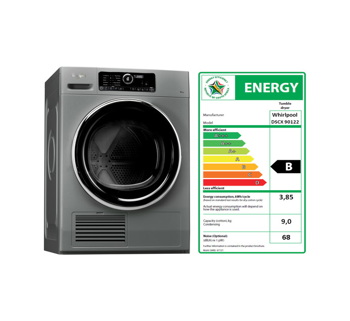 WHIRLPOOL 9 kg 6th Sense Zen-Condensor Dryer
