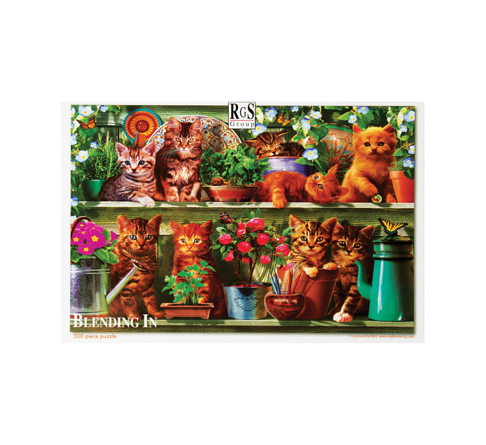 500 piece Blending In Puzzles
