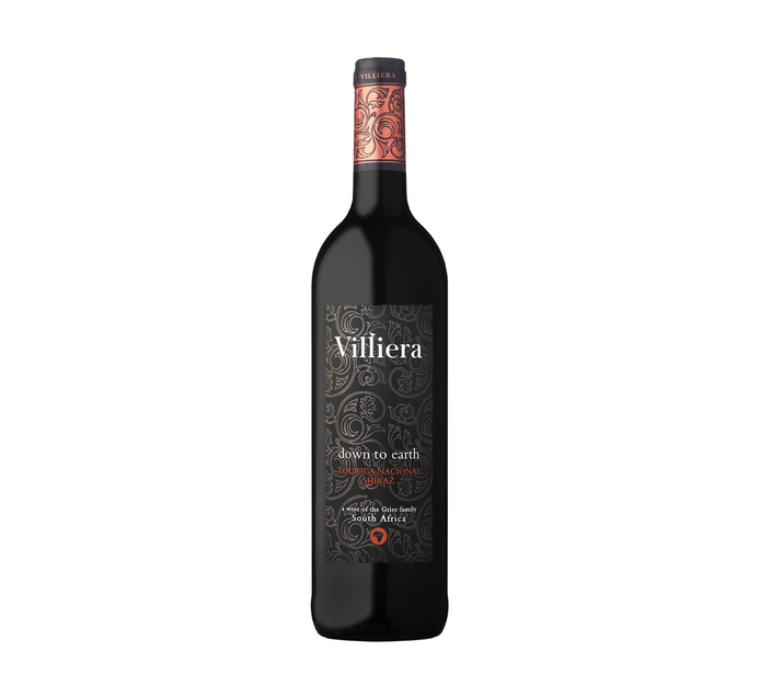 VILLIERA Down To Earth Red (1 x 750ml)