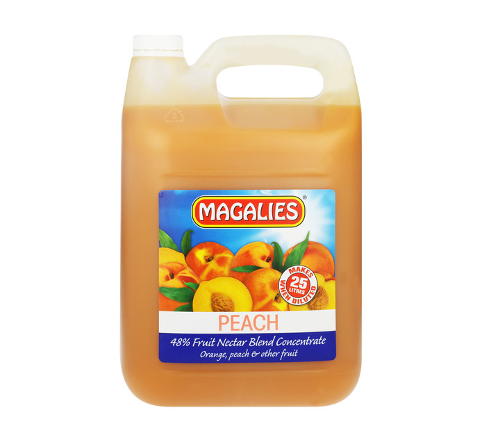 MAGALIES Concentrates Peach (1 x 5L)