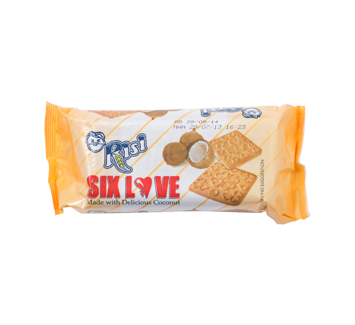 RISI SIX LOVE BISCUITS 200G