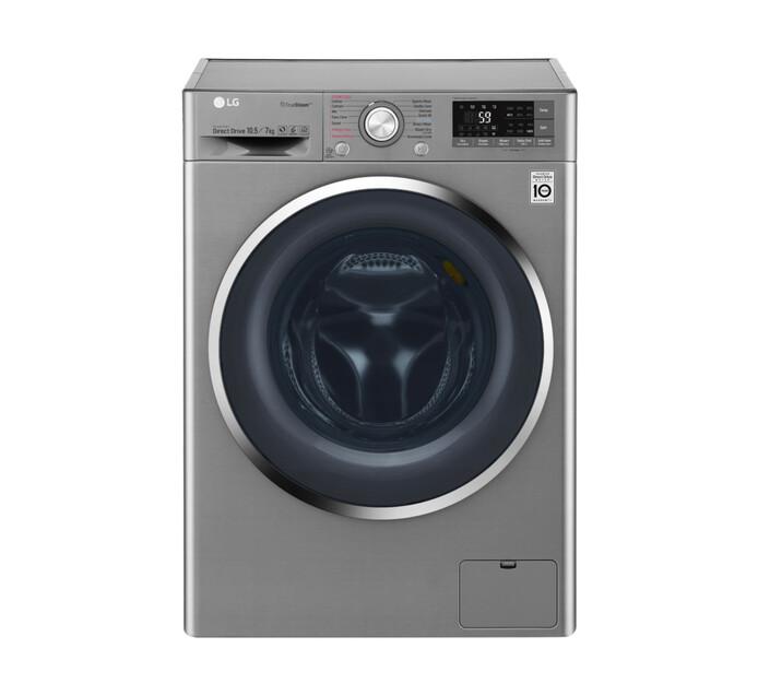LG 10.5 kg/7 kg Front Loader Washer/Dryer Combo