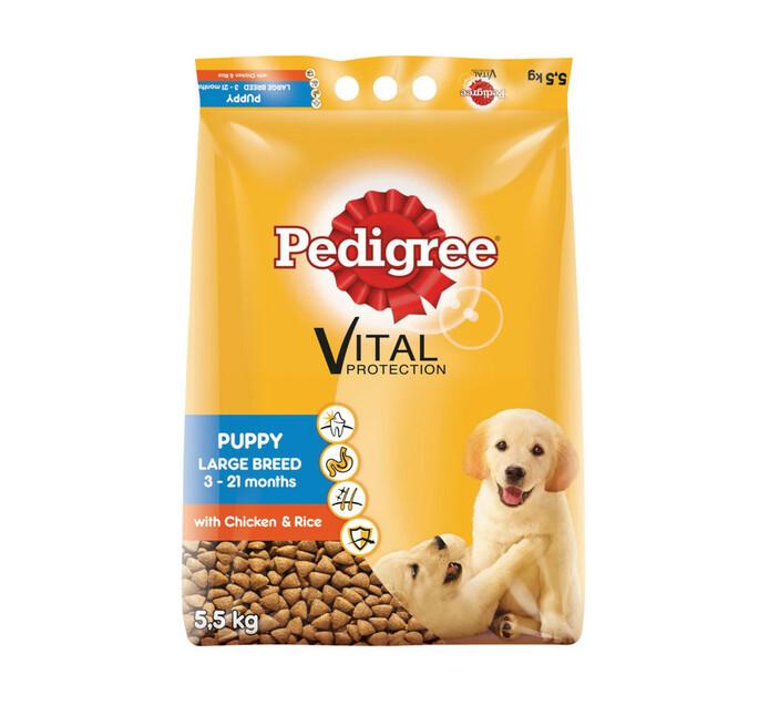 PEDIGREE Puppy Dry Dog Food (All variants) (1 x 5.5kg)