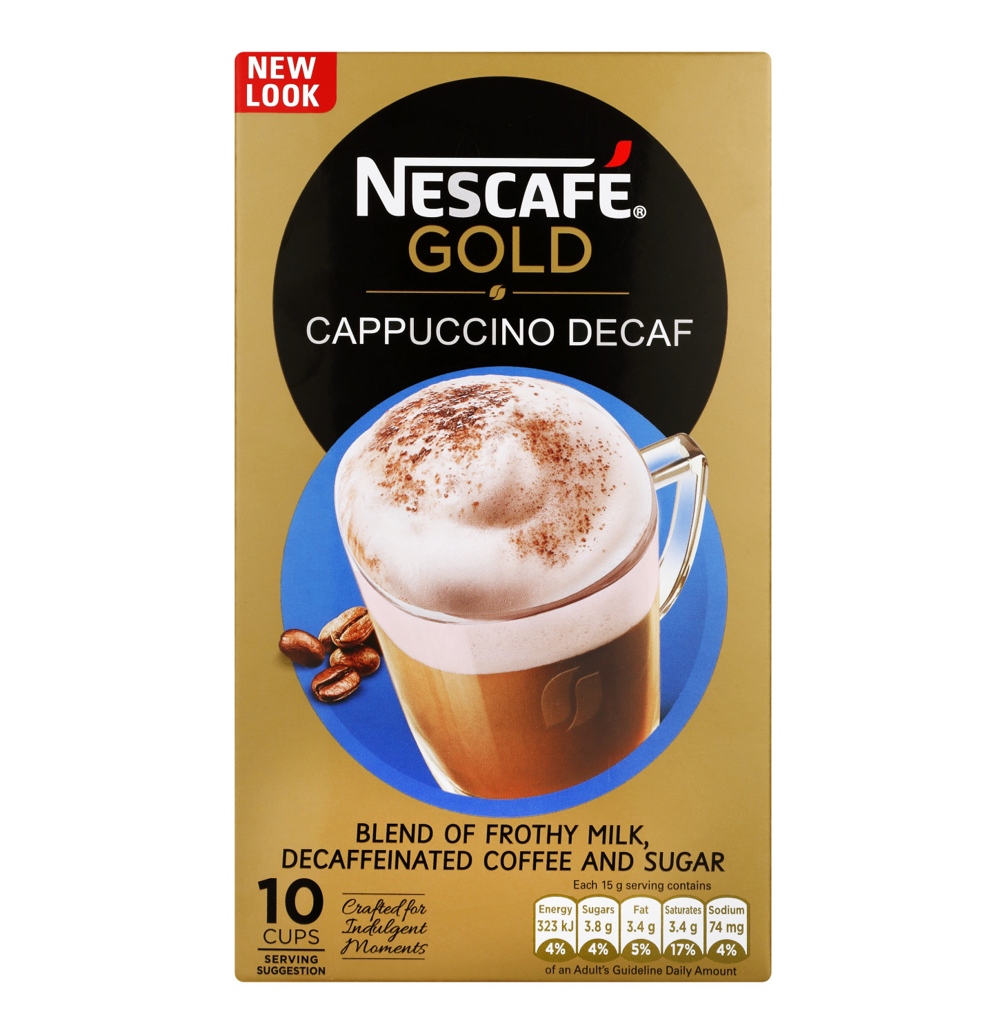 NESCAFE Cappuccino Decaffinated (60 x 15g)