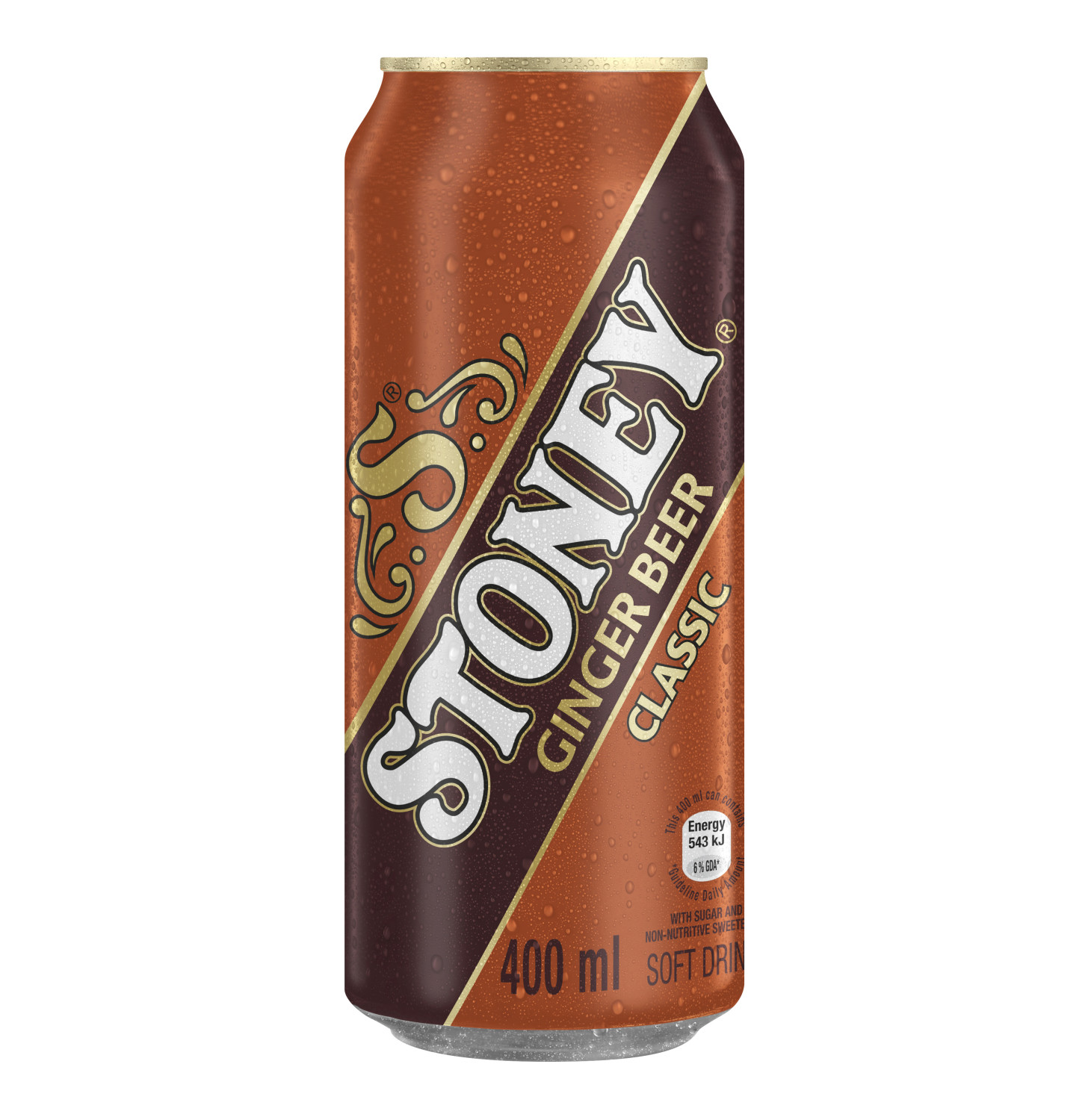 Stoney Soft Drink Can (6 x 400ml)