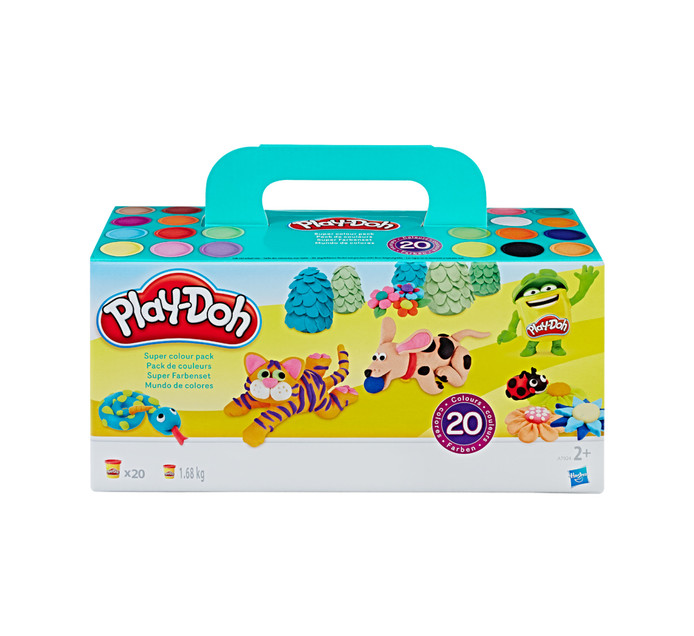 PLAYDOH 20 Pack Modeling Clay Super Color