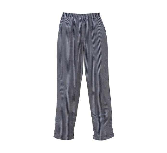 BAKERS & CHEFS Meduim Chef Pants Blue & White