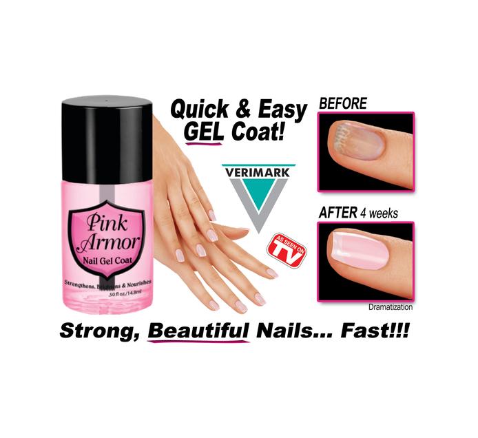 VERIMARK Pink Armour Nail Gel
