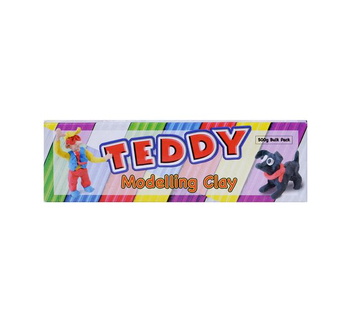 TEDDY 500g Modelling Clay Brick