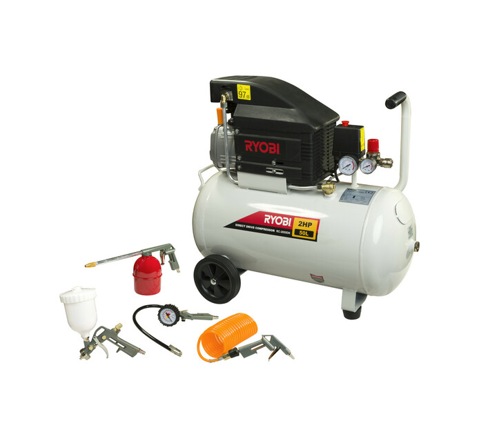 RYOBI 50 l Direct Drive Compressor Kit