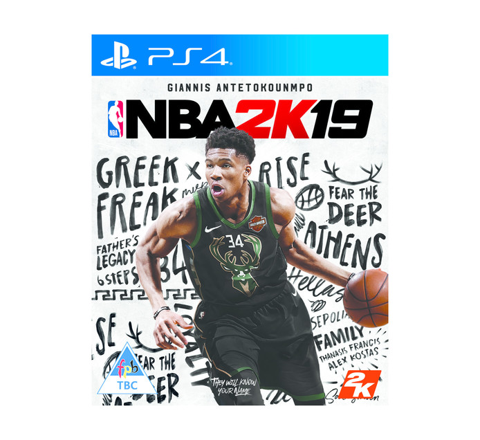 PS4 NBA 2K19 Standard EDT - Vailable 11 Sept 18