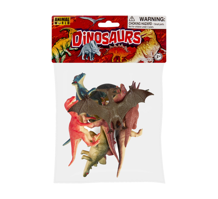 DINOSAURS IN A BAG 8PK