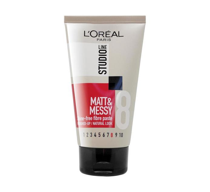 L'OREAL Studio Line Matt & Messy Paste (1 x 150ml)