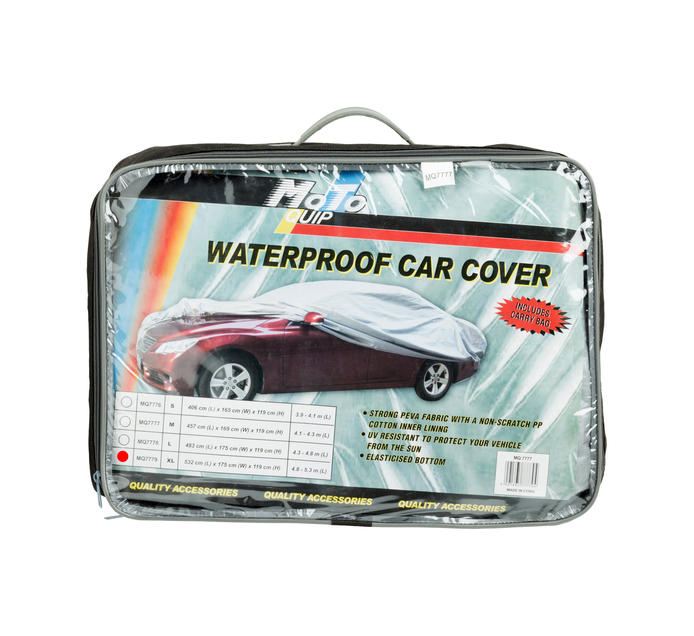 MOTO-QUIP Extra large Waterproof Car Cover