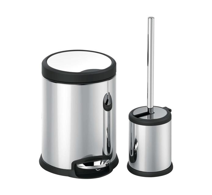 HOME LIVING 3 l Bin and Brush Set
