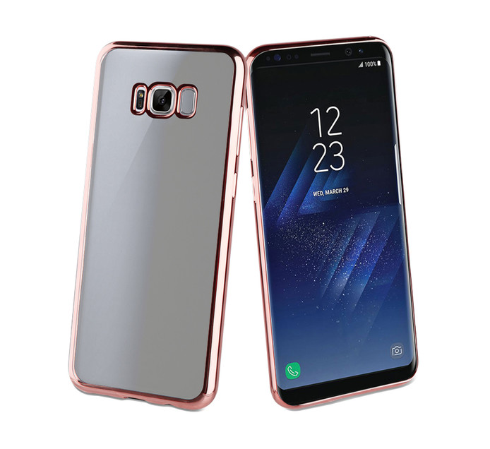 MUVIT Bling Case for Samsung S8 Rose gold