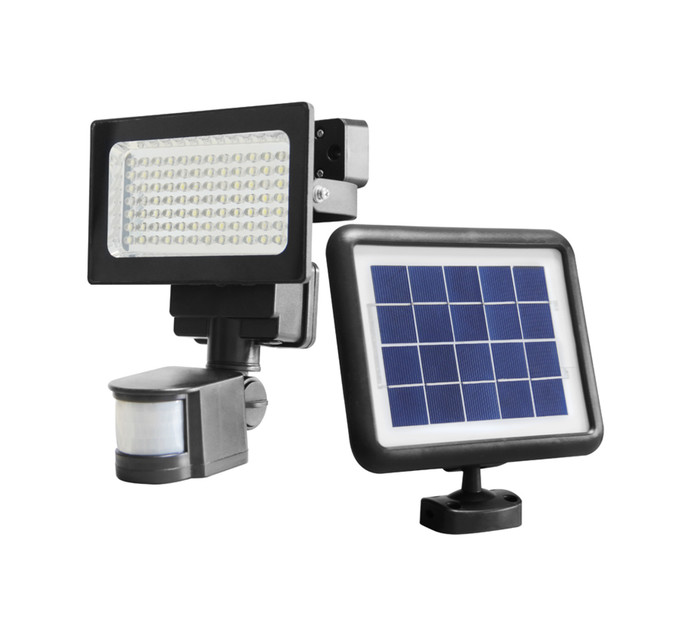 ULTRA LINK Solar LED Security Floodlight - Dimmable and Motion Sensor