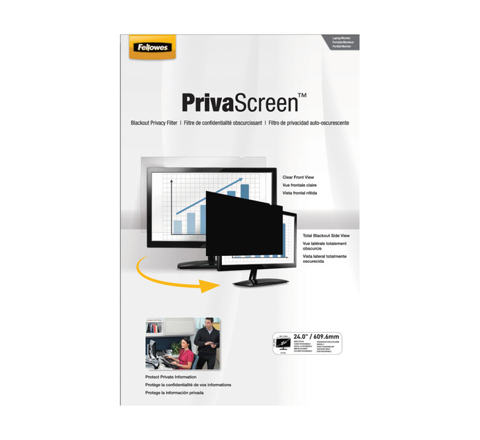 """FELLOWES 24"""" Privacy Filter"""