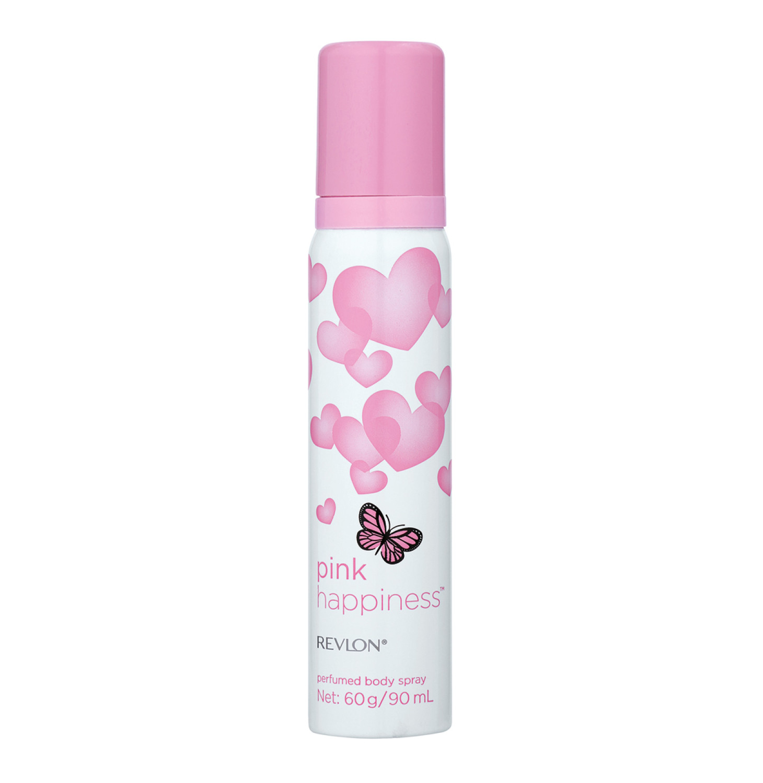 Revlon Body Spray Pink Happiness Ori (6  x  90ml)