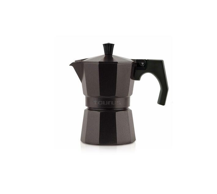 """Coffee Maker Aluminium Purple 3Cup """"Italica Elegance"""""""