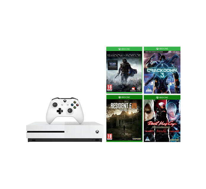 XONE S 1TB 4 GAME BUNDLE