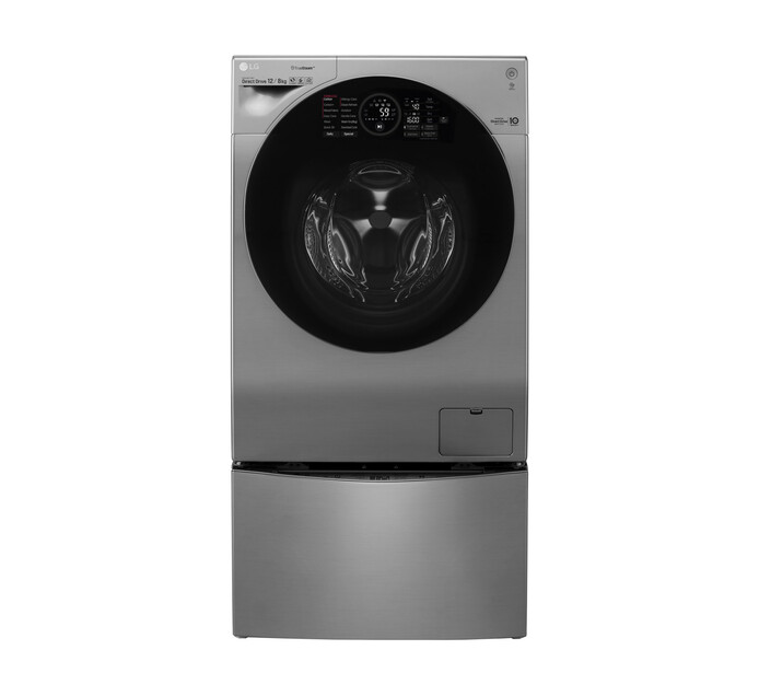 LG 12/8 kg + 2 kg Front Load Twin Washer/Dryer Combo