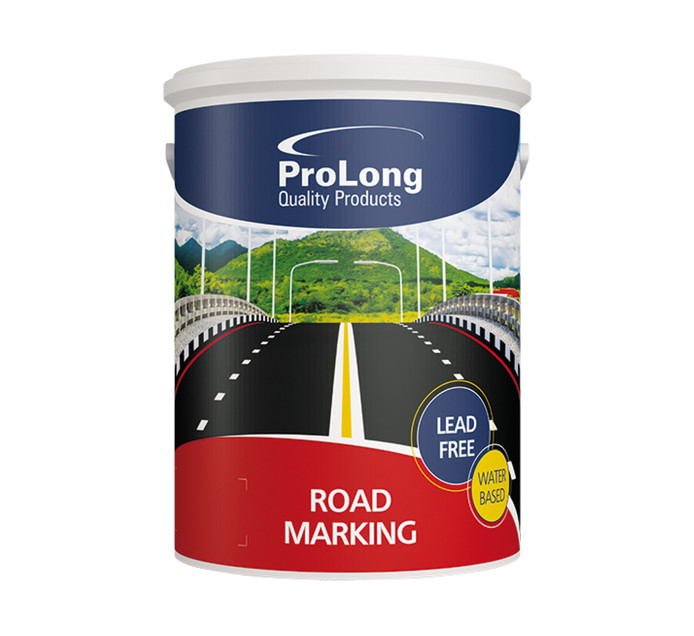 PROLONG 5l Prolong Waterbased Road marking Paint 5l Red