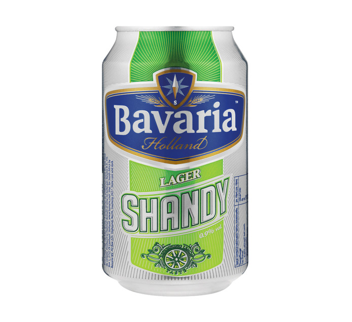 BAVARIA Lager Shandy Can (6 x 330ml)