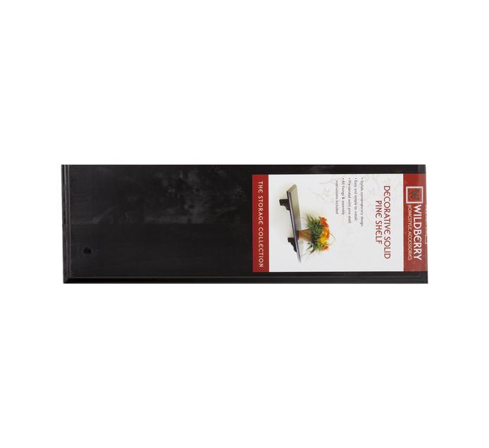 WILDBERRY 600mmx200mm Straight Shelf Kit