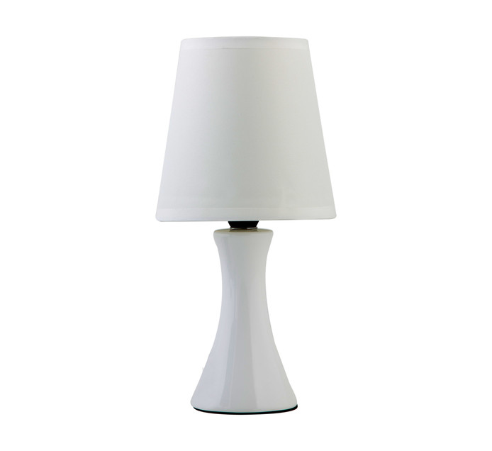 EUROLUX Cream Ceramic Table Lamp 2pack