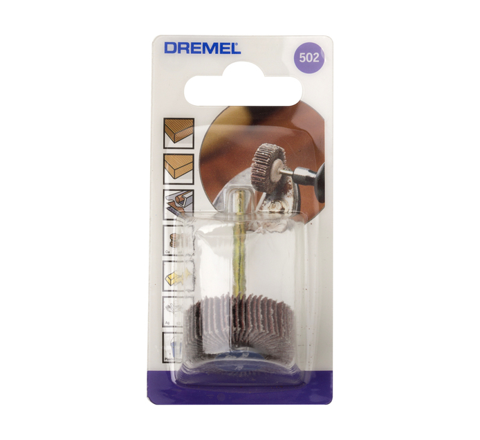 DREMEL 28.6MM x 80 Grit Flap Wheel
