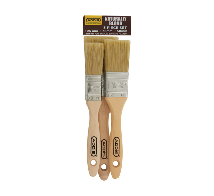 USABCO Naturally Blond 3 Piece Brush set
