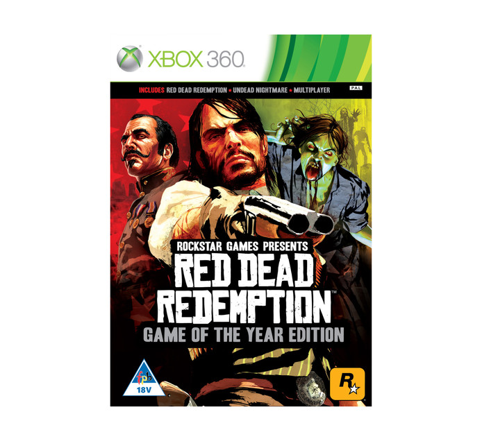XBOX 360 Red Dead Redemtion Goty