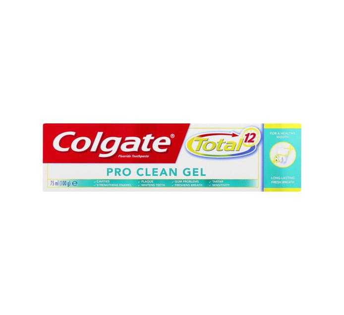 COLGATE TOTAL PRO-CLEAN GEL 75ML T/P